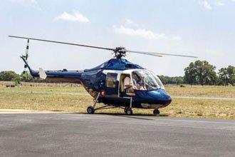 4 х местный вертолет
