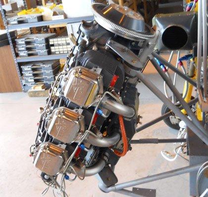 двигун для вертольота Hummingbird 300L