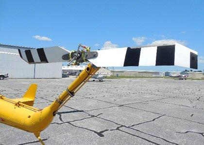 Нова розробка лопатей хвостового гвинта вертольота Hummingbird