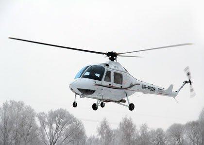 невеликий вертоліт