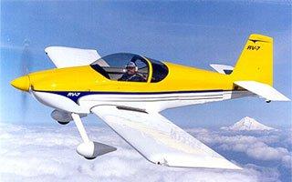 RV-7 двухместный самолет